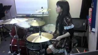 IN FLAMES Pinball Map Drumcover Fumie Abe
