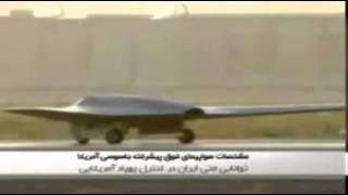 Iran TV`sHow We Trapped CIA Reconnaissance RQ-170 Stealth UAV Toy for Christmas Gifts