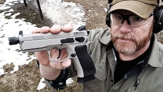 CZ P01 Tactical Urban Grey Full Range Review:  Best Compact..........