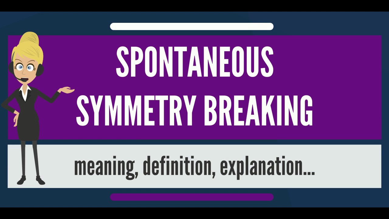 What is the meaning of spontaneous