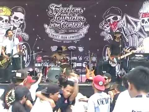 SID White town cover by QUEENSIDER 13 live at Freedom & Lowrider Contest 2016 SIL