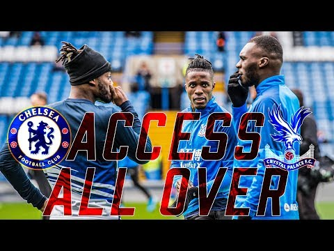 ACCESS ALL OVER | Chelsea 2-0 Crystal Palace PITCHSIDE