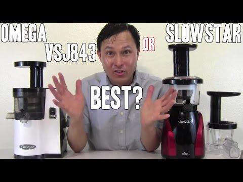 Is the Slowstar or Omega VSJ843 Juicer Best ?