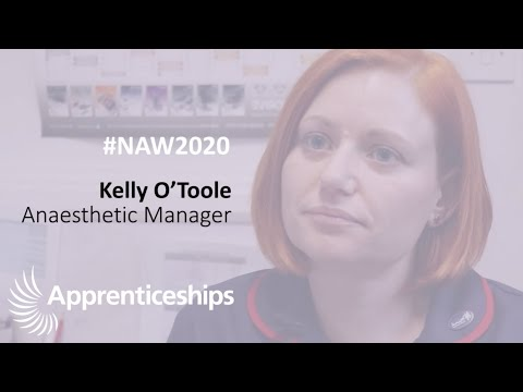 National Apprenticeship Week #NAW2020 - Kelly's Story