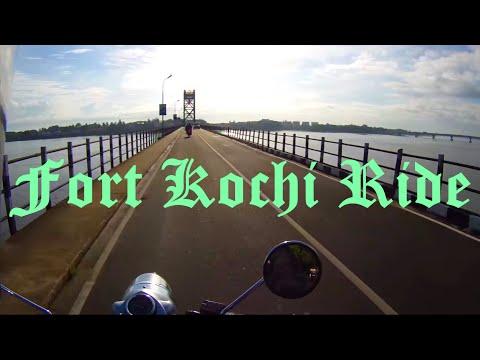 Fort Kochi | Jew Street | Mattancherry | Old Kochi Ride - Royal Enfield