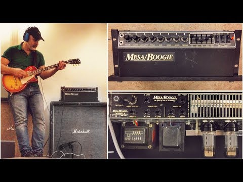 Classic and Affordable Vintage Mesa Boogie! .50 CALIBER PLUS