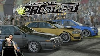 Need for Speed: ProStreet изи катки на руле Fanatec CSL Elite