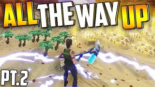 I TRADED Fibrous Herbs To THIS... [Pt.2] (All The WAY UP) - Fortnite Save The World