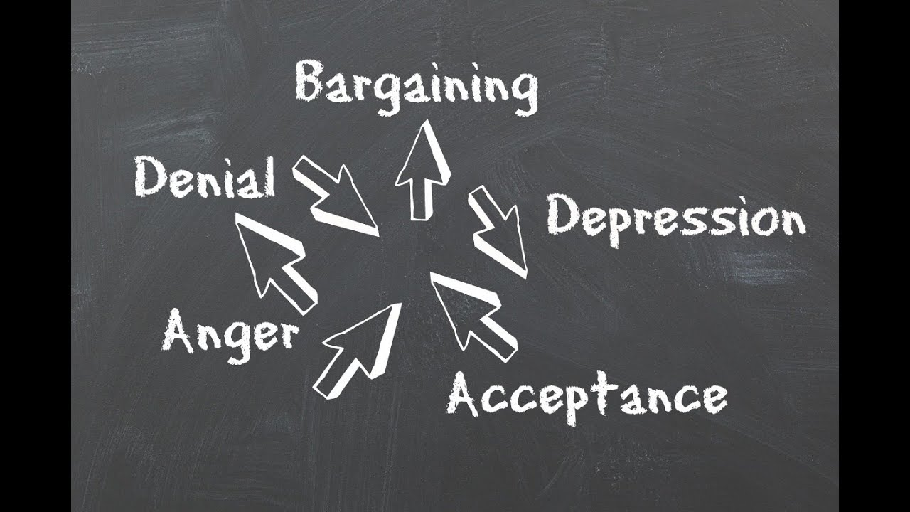 how to get out of the anger stage of grief