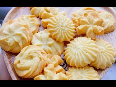 Hướng dẫn chi tiết cách làm món bánh quy bơ tại nhà cực kỳ đơn giản