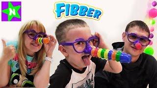 Фиббер от Spinmaster игра распаковка Игры для детей. Играем в Fibber. Мистер Никита Видео для детей