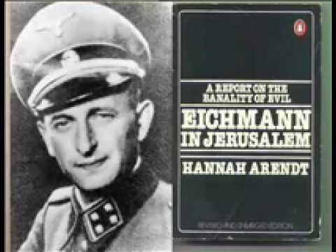 Hannah Arendt y la banalidad del mal 2/5 - YouTube
