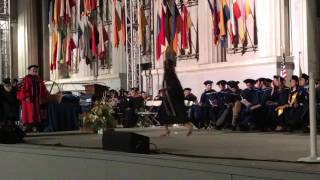 UC Berkeley College of Natural Resources Commencement 2017