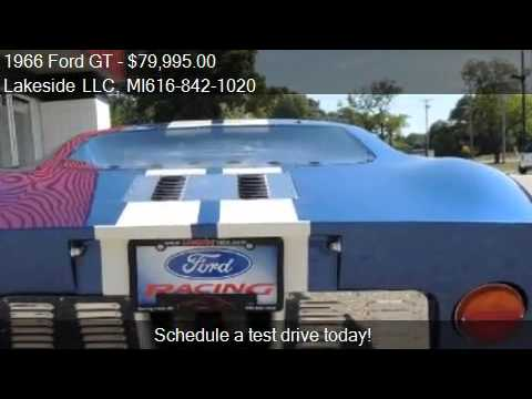 1966 Ford GT GT40 - for sale in Spring Lake MI 49456 & 1966 Ford GT GT40 - for sale in Spring Lake MI 49456 - YouTube markmcfarlin.com