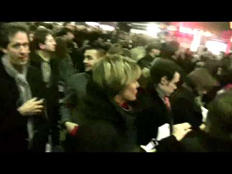 Emergency evacuation of London Bridge Station 25 Jan 2010