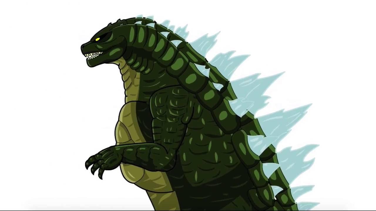 Animated Cartoon Wallpaper Legendary Godzilla Animation Youtube