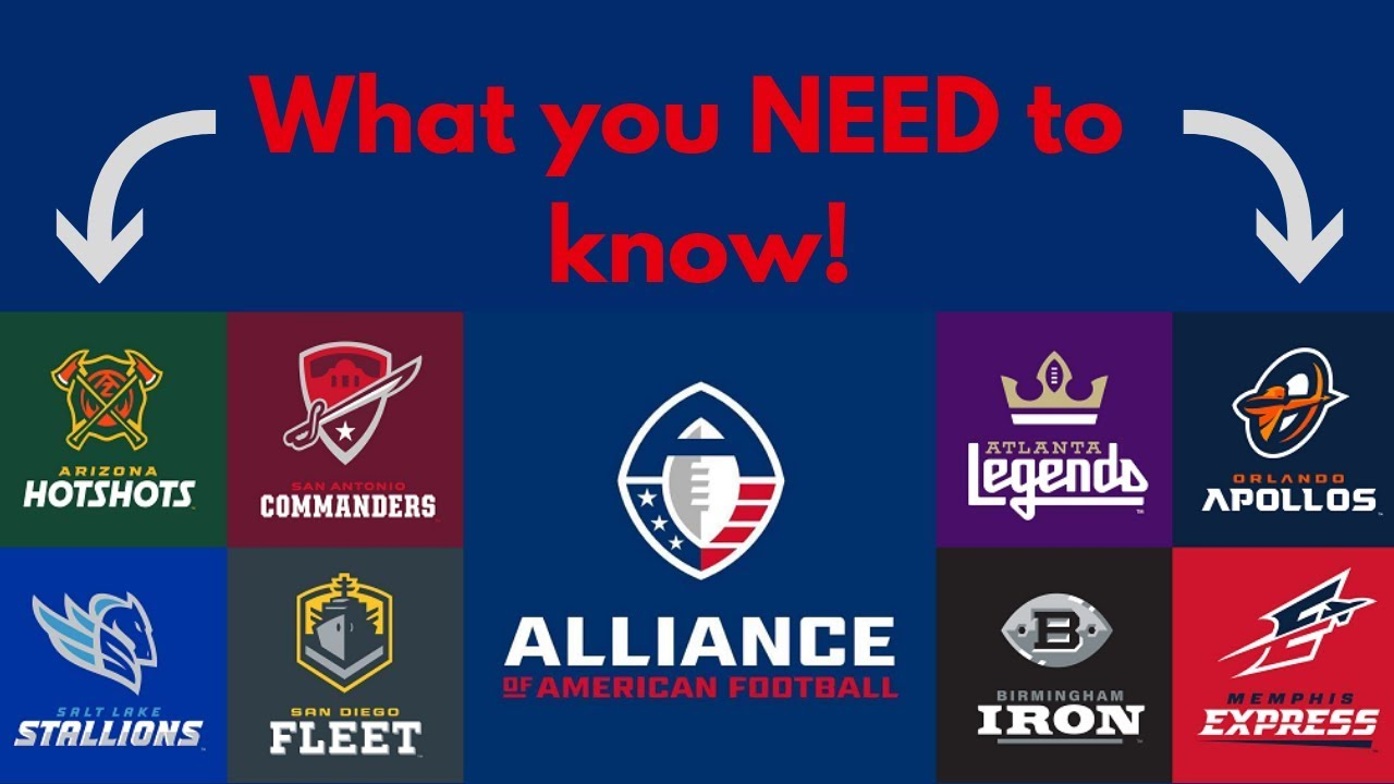 What is the American Football Alliance