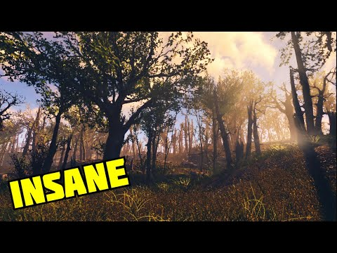 The MOST INSANE Xbox One Graphics Mods For Fallout 4