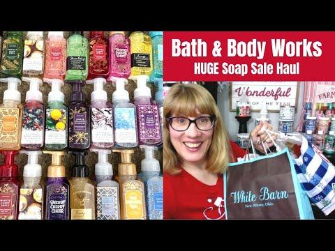 HUGE Bath & Body Works Soap Sale Haul