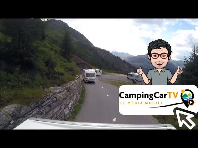 JT en camping-car N°143 - Col de l'Iseran,
