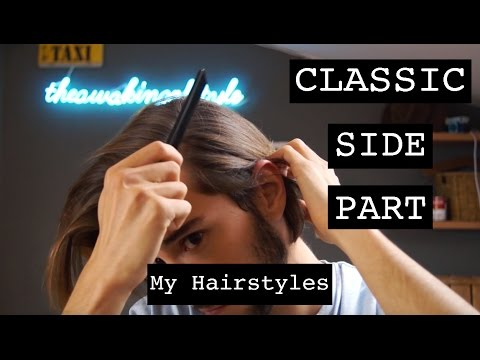 Classic Side Part | Men's Hair | My Hairstyles | Ruben Ramos
