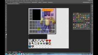 Как сделать у себя в инвентаре свой арт Minecraft