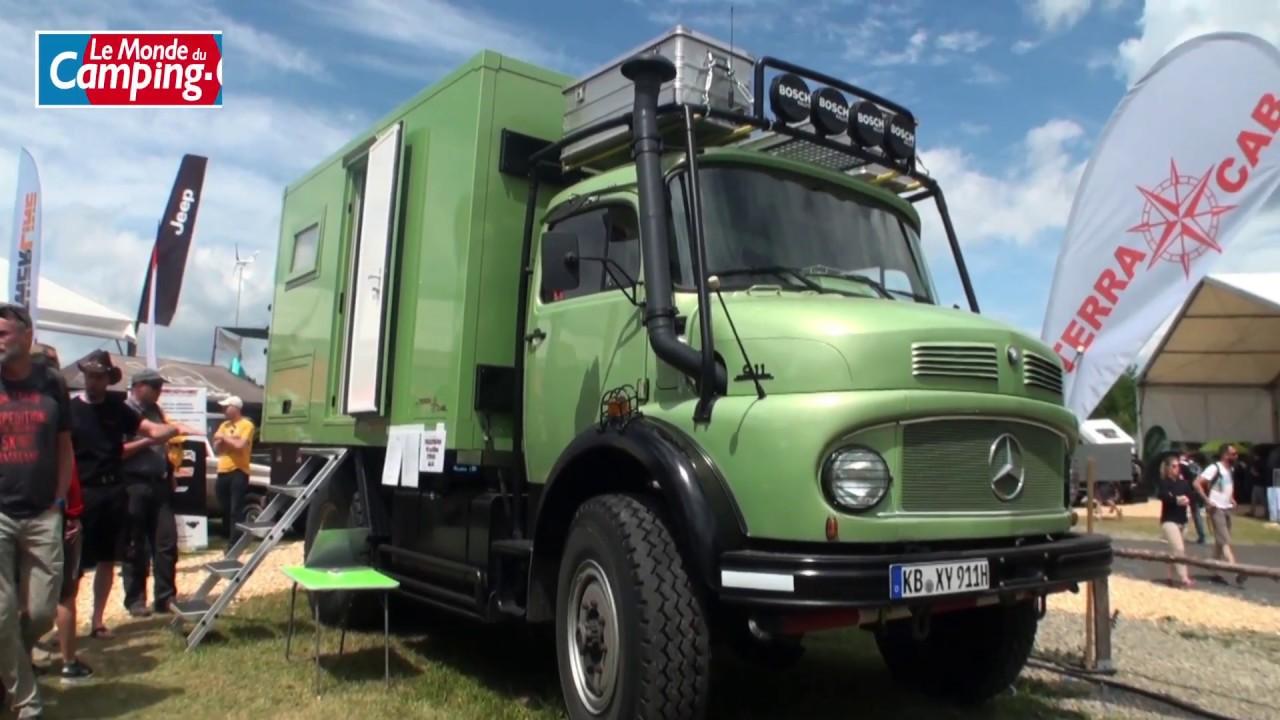 superbe un camion mercedes 911 de collection am nag en. Black Bedroom Furniture Sets. Home Design Ideas
