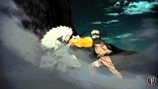 AMV Sasuke Rinengan & Naruto Six Paths Sage Mode Vs Madara Rikudou