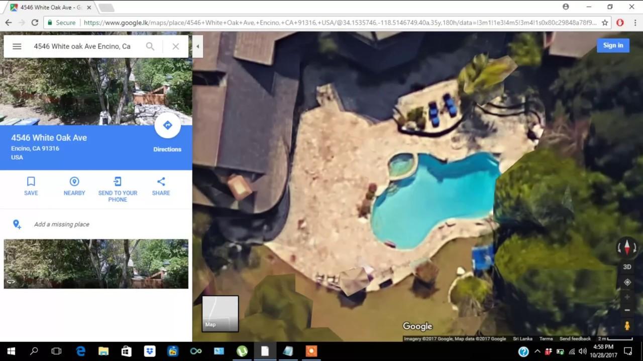 Google Maps Home Area