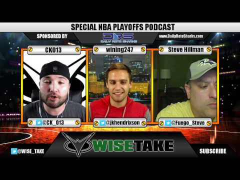 NBA DFS Podcast - Special Playoff Edition - w/ Wining247 & Fuego Steve - 4.15.17
