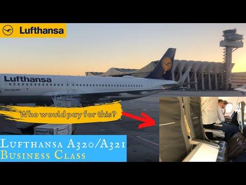 Lufthansa European Business Class And Lounges