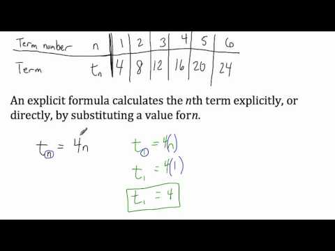 how to write a recursive rule for a sequence