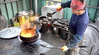 Korean Iron Pot Factory Manufacturing Process