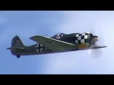 Focke Wulf 190 AWESOME SOUND !!!