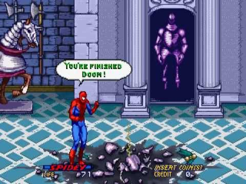 spider-man arcade game marvel