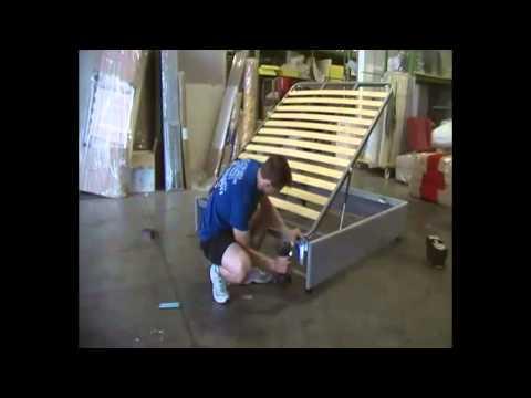 Come si monta il nostro letto contenitore youtube - Come costruire un letto contenitore ...