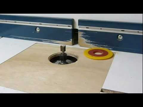 Homemade router table lift youtube homemade router table lift greentooth Images