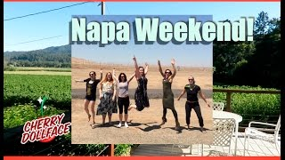 Day in the Life: Wine Drunk and Madlibs in Napa! CHERRY DOLLFACE