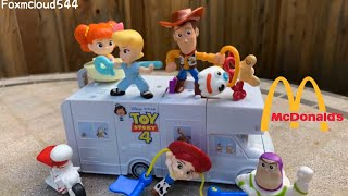 Toy Story 4 McDonalds Toys - RV tutorial