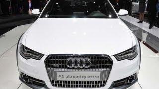 2013 Audi A6 Allroad Quattro Debuts at 2012 Geneva Auto Show