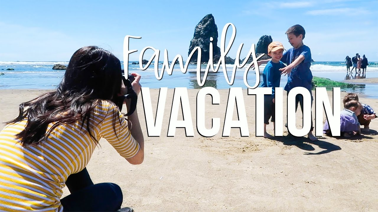 Family Vacation At Cannon Beach Oregon