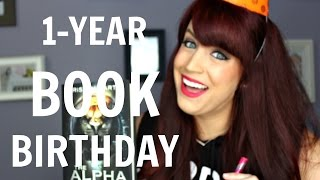 The Alpha Drive 1-Year Book Birthday + My Writing Journey