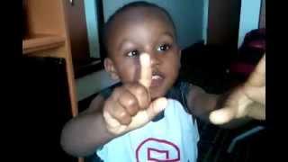 2 YEAR OLD Baby J-Funk Sings Twinkle Twinkle Little Star Thumbnail