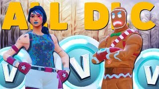 One of SXVXN's most viewed videos: BUYING ALL FORTNITE CHRISTMAS UPDATE DLC | Fortnite Battle Royale