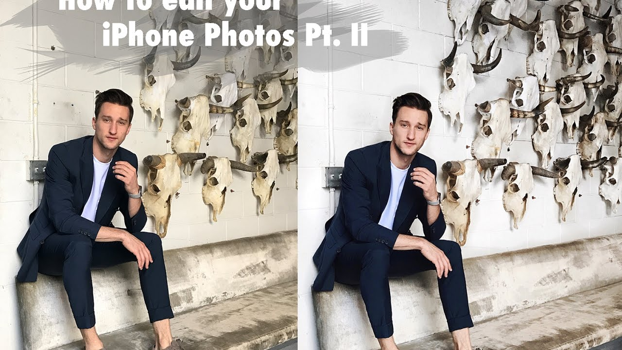 How to Edit Photos on an iPhone | One Dapper Street