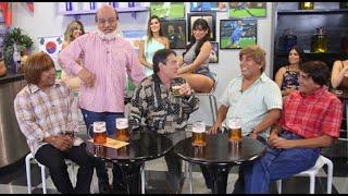 El Chato Barraza puso a todos a reír en el bar 'Pídalo con Rima'