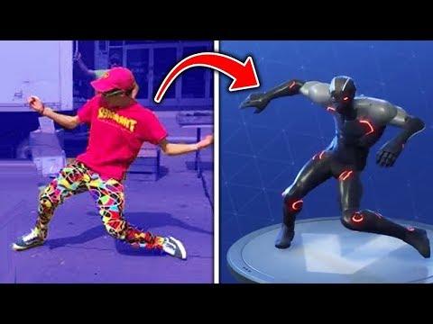 Los Bailes de Fortnite en LA VIDA REAL