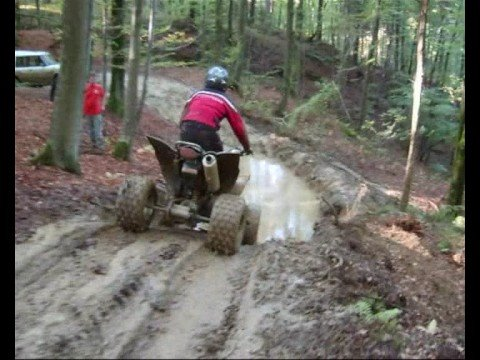One day in the Slovenian woods - off-road ATVs & jeeps