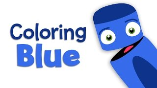 Babyfirsttv: Color Crew Learn Colors: Blue 2 | Color Lesson For Kids