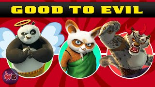 Kung Fu Panda Characters: Good to Evil